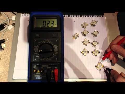 How to test an RF MOSFET with a digital multimeter