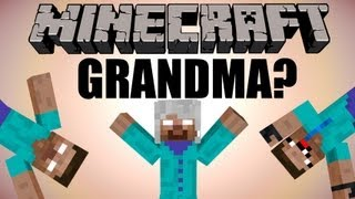 getlinkyoutube.com-Herobrine has a GRANDMA? - Minecraft Machinima