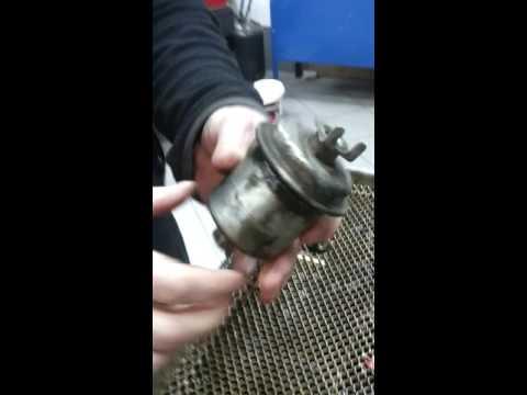 Замена Топливного фильтра Honda