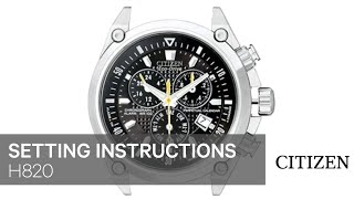 getlinkyoutube.com-CITIZEN E820 Setting Instruction