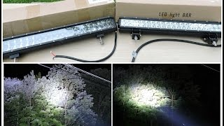 getlinkyoutube.com-CREE Vs OSRAM LED Light Bar Comparison