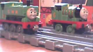 getlinkyoutube.com-Thomas the tank engine - Duck takes charge (Take along remake)