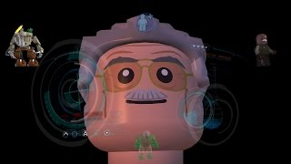 getlinkyoutube.com-All Iron Man & Stan Lee Suit Up Animations LEGO MARVEL's Avengers