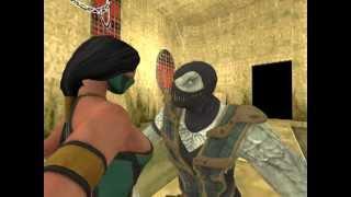 getlinkyoutube.com-Garrys mod . Mortal Kombat - Tag Team