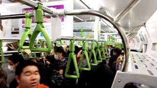 getlinkyoutube.com-山手線に新型車両!! E235系 一番列車に乗りました 出発式→出発