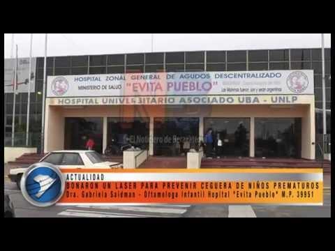 DONARON UN LASER PARA PREVENIR CEGUERA DE NIÑOS PREMATUROS