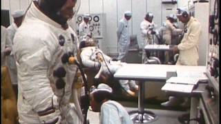 getlinkyoutube.com-APOLLO 11 - Lunar EVA Training, Launch and Mission Control