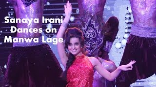 getlinkyoutube.com-Sanaya Irani dance on #MirchiTop20 Countdown show