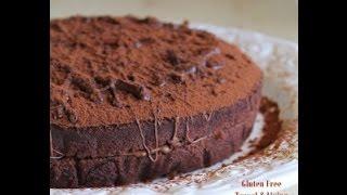getlinkyoutube.com-Torta al cacao senza uova, glutine, burro e lattosio