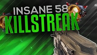 Insane Weevil Nuclear - 58 Killstreak (Longest yet)