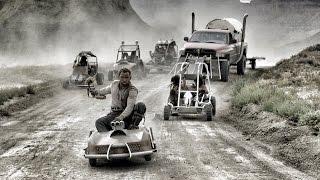getlinkyoutube.com-Mad Max GoKart Paintball War - 4K!