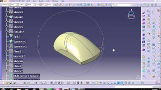 getlinkyoutube.com-Modeling Mouse by Catia V5R20