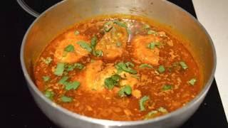 getlinkyoutube.com-Salmon Fish Curry (Spicy Fish Curry Recipe )