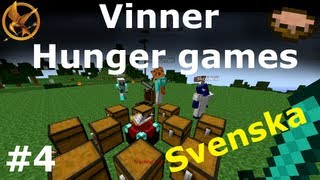 getlinkyoutube.com-Minecraft HUNGER GAMES ★ VINNER #4 [Svenska]