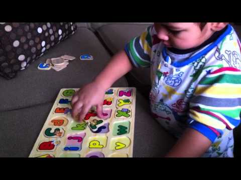 The Alphabet ABC Song - Learn by matching letters - Puzzle Game.