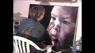 "getlinkyoutube.com-Akiane Painting ""Wonder"" (time lapse)"