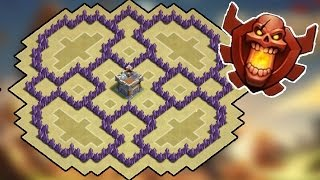 Clash Of Clans - The Flower (Awesome TH7 Farming Base) - New 2015 HD