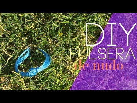 DIY Pulsera de nudo simple |RossaneTV