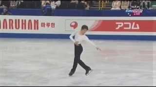 getlinkyoutube.com-町田樹 2014 世界選手権 SP ESP (ドイツ語訳付)