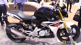getlinkyoutube.com-2016 BMW G310R - Walkaround - Debut at 2015 EICMA Milan