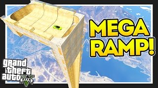 getlinkyoutube.com-THE VERTICAL RAMP!! GTA 5 Mods Showcase! #goodluckgolfcaddy!