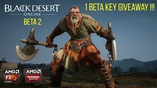 getlinkyoutube.com-Black Desert Online Beta 2 : Max Settings FPS Test R9 280X FX 8350 [1 Beta Key Giveaway !!]