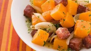 getlinkyoutube.com-Receita  - Carne seca com abóbora