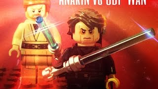 getlinkyoutube.com-Lego Star Wars: Anakin vs Obi-Wan
