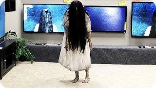 RINGS TV Store Prank (2017) Horror Movie