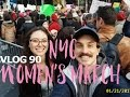 NYC WOMENS MARCH. VLOG 90