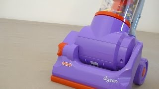 getlinkyoutube.com-Dyson DC14 Toy Vacuum Cleaner By Casdon Assembly & Review