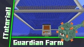 getlinkyoutube.com-Easy Guardian Farm (16000 Items/h) [Tutorial] Minecraft 1.10