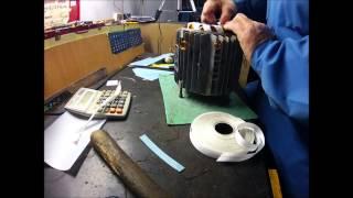getlinkyoutube.com-Bobinaj (rebobinare) motor electric trifazat