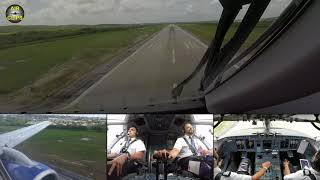 Sukhoi Superjet Cockpit Landing - Exclusive Extra to our Ultimate Cockpit Movie [AirClips]