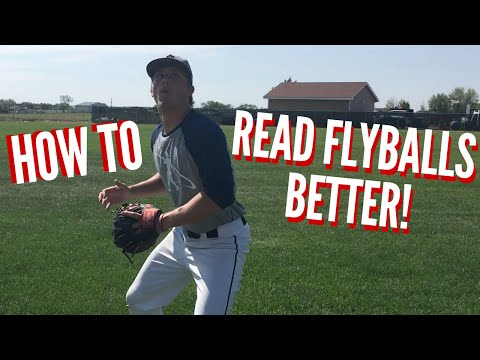 How to: Read Flyballs Better - Baseball Outfield Drills