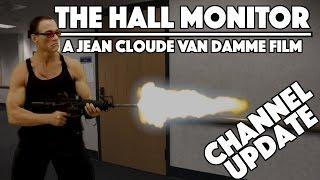 getlinkyoutube.com-The Hall Monitor - Channel Update + Cringe Worthy Short Film!