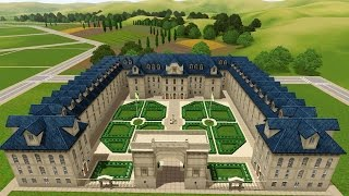 getlinkyoutube.com-The Sims 3 Versailles -Speed Build- The School!