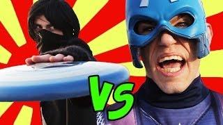 Capitán América que hace reír la Europa
