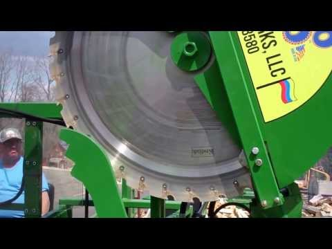 Woodbine Firewood Processor Rapido Loco 60 2013 Product Video