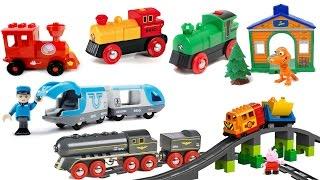 getlinkyoutube.com-Мультфильмы про поезда и паровозики. Сборник, все серии подряд