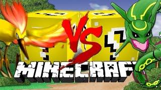 getlinkyoutube.com-Minecraft: Pokémon LUCKY BLOCK CHALLENGE 2 | Legendary Pokemon!!