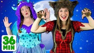 getlinkyoutube.com-Halloween Stomp and More! Kids Halloween Collection - Children's Halloween Songs