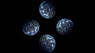 getlinkyoutube.com-Видео для 3D голограммы - Планета Земля крутится  - YOG - 2