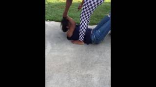 getlinkyoutube.com-Girl Tries To Fight Her BOYFRIEND'S COUSIN . . . She Gets A BRUTAL BEATING