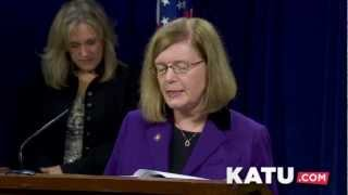 Video: Oregon Senate Democrats release 2013 Legislative Agenda