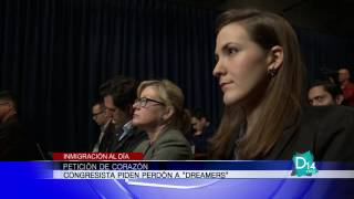 Congresistas piden perdón para