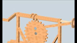 getlinkyoutube.com-Tornillos Sin Fin - Máquinas de Leonardo Da Vinci -