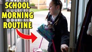 SCHOOL MORNING ROUTINE 2018!!! Ruby Rube