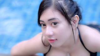 Indonesian girls model nude, topless teen sunbathing