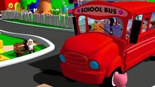 Wheels On The Bus | Nursery Rhymes | Songs For Kids | Baby Videos